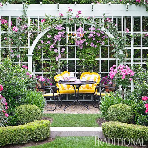 Before and After: Enchanting English Garden   Traditional Home