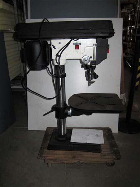 jet bench drill press lot 61 jet jdp 15m 15 in bench mount drill press wirebids