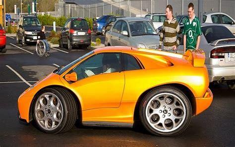 Mini Lamborghini by Mini Lamborghini Diablo Smart Cars Make Me Laugh