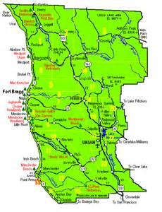 map of mendocino county california mendo map regions