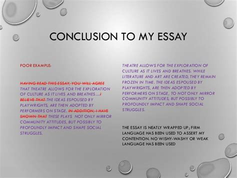 Write Conclusion Essay Exles by How To Write A Conclusion For An Essay Exles