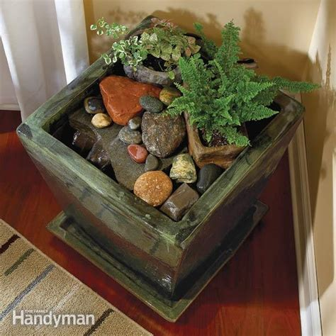 build indoor water fountains the family handyman