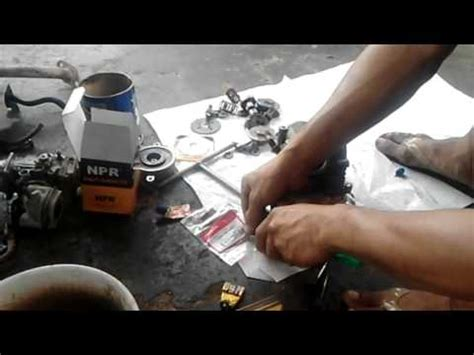 Payung Klep Mio tutorial cara pasang alat motor mio soul yang sudah di