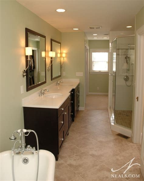 narrow master bathroom narrow bathroom remodeling hyde park oh