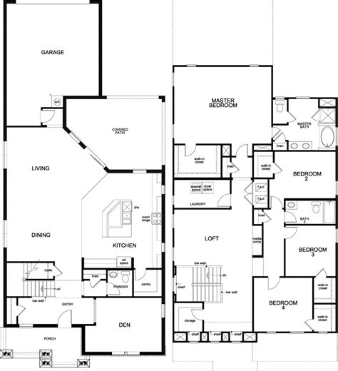 kb homes floor plans kb homes floor plans black
