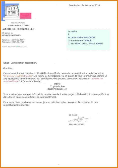 lettre officielle lettre officielle