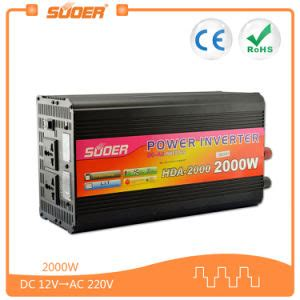 Power Inverter Charger 2000w Suoer 12v 220v 2000w Solar System Home made in china