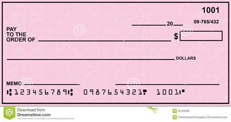 free personal background check pink blank personal check stock image image of payment