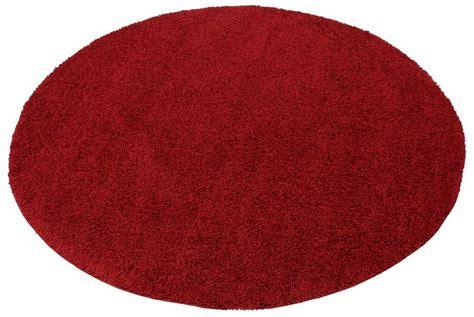 teppich rund rot teppich rund rot hochflor das beste aus wohndesign und
