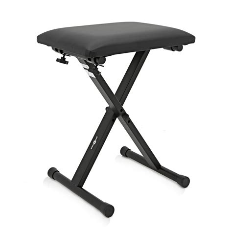 keyboard piano bench adjustable keyboard piano bench by gear4music at