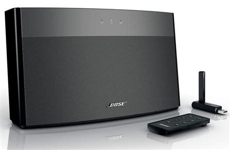 Speaker Wireless Bose bose soundlink wireless usb speaker system slashgear