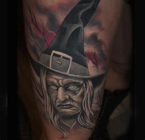 fantasie hexen tattoo von pawel skarbowski