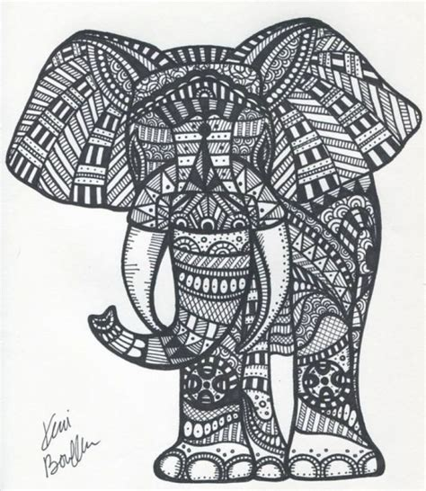 coloring pages abstract elephant get this abstract elephant coloring pages 99537