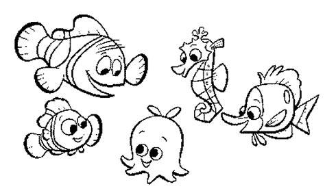 Disney Coloriages Nemo Page 4 Dessin De Poisson Nemo L