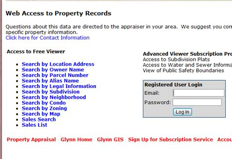 Search Web Address Owner Help On Viewing Tax Bills Glynn County Ga Official Website