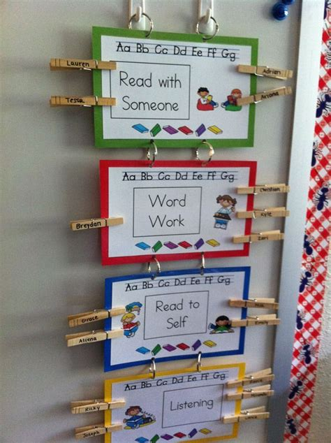 classroom layout for daily five daily 5 rotation board idea classroom pinterest
