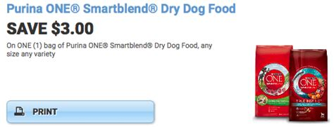 dog food coupons in the mail 3 off purina one smartblend dry dog food coupon