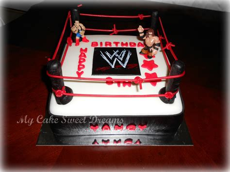 quot my cake sweet dreams quot wwe cake
