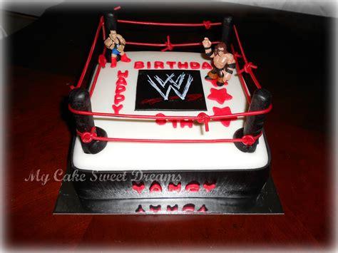My cake sweet dreams quot wwe cake