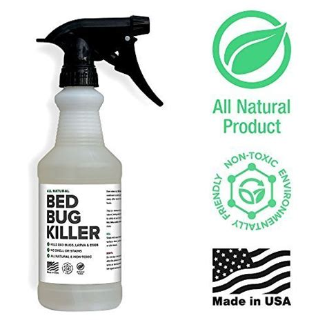 natural bed bug sprays effective solutions