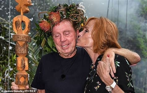 harry redknapp celebrity jungle video when harry met sandra now he s the king of the jungle we
