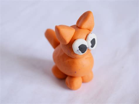 How To Make Clay Out Of Paper - how to make polymer clay cats with pictures wikihow
