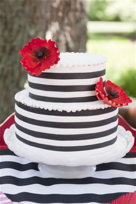 Poppy  Ee  Party Ee   With Black White Stripes  Ee  Birthday Ee    Ee  Party Ee