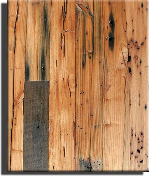 Cabin Grade of Antique Wormy Chestnut Flooring by