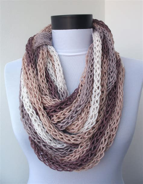 how do you knit a scarf scarf necklace loop scarf infinity scarf neck warmer by