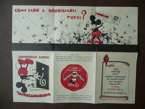 Grafica Anni 30 by Pubblicit 224 Cirio Cioccolato Topolino Grafica Pieghevoli