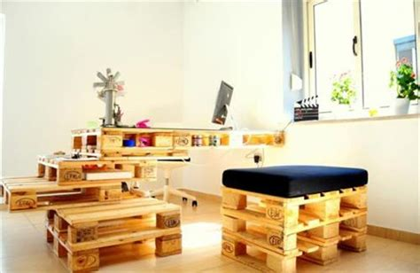 Office Desks And Tables Beautiful Pallet Office Furniture Pallets Designs