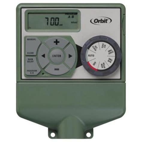 orbit 4 station easy electrical sprinkler timer 57874