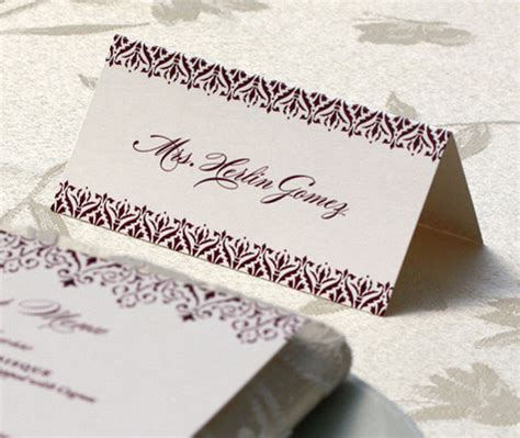 how to print names on wedding place cards place cards for your wedding reception letterpress wedding invitation
