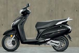Honda Activa Scooty 125cc New Honda Activa 125cc Scooter Launched At Starting Price
