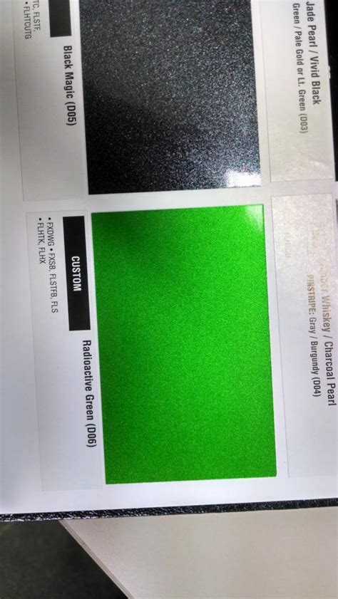 2015 model color chart available harley davidson forums