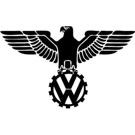 german volkswagen logo vw german eagle vinyl sticker by 710plotting on etsy 3