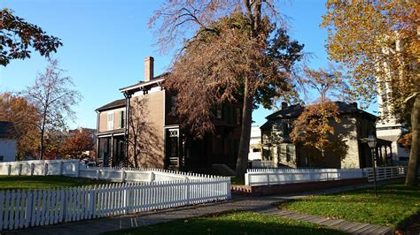 lincoln home national historic site travelthepast com lincoln home national historic site springfield illinois