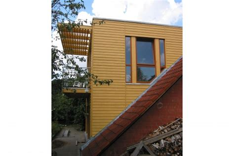 nur dach haus anbau an ein nur dach haus in b 252 chen harms und k 214 ster