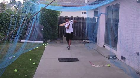 cricket nets backyard 2 youtube