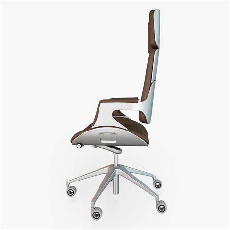 Silver Desk Chair by Interstuhl Silver 362s Office Chair 3d Model Max Obj