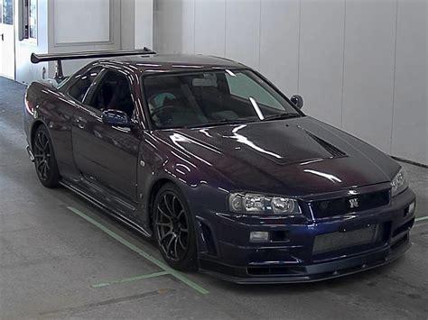 nissan midnight purple torque gt auction report r34 gtr special