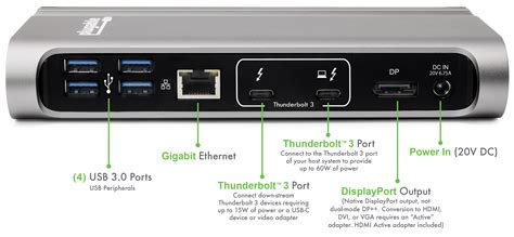 what is a port thunderbolt 3 plugable