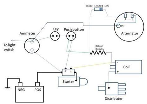 farmall wiring diagram farmall a 12 volt wiring