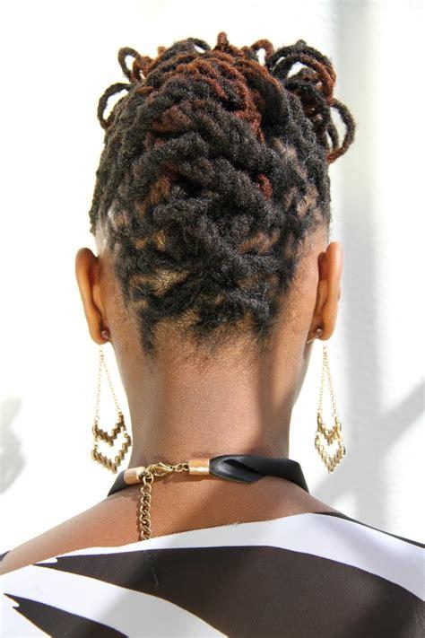 images of basket weave twist updo for black women short dreadlock braid styles short hairstyle 2013