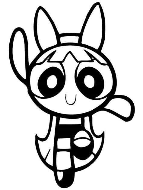 coloring pages of bubbles the powerpuff girl powerpuff girls coloring page az coloring pages