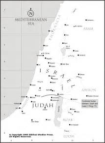 Dan Tyre Map Of New Testament Israel Submited Images