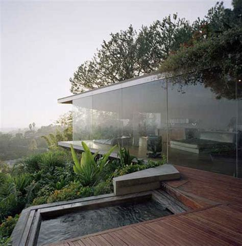 small house design with glass walls home design modular repro in hill country the hollywood hills is