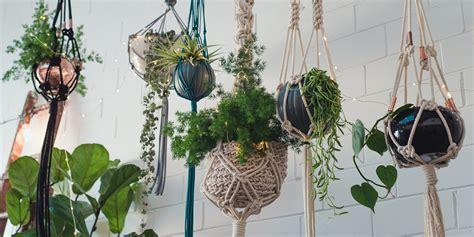 Potted Plant Hangers - diy macram 233 pot plant hanger nouba au diy