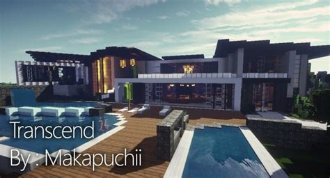 Modern House Inspiration Minecraft Project | trascend modern house minecraft house design