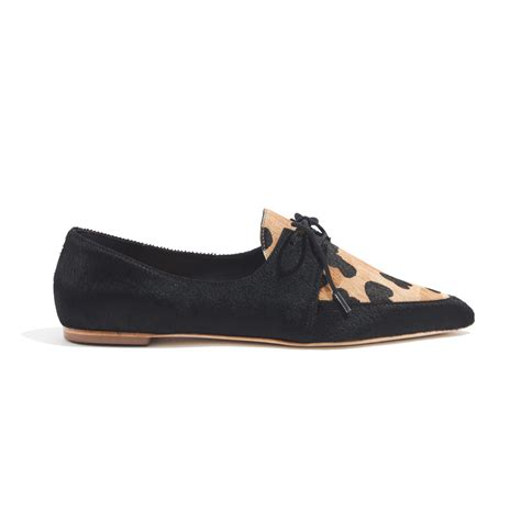 madewell oxford shoes lyst madewell loeffler randallreg beatriz oxfords in black